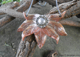 Forest Flower - Necklace by atsed11