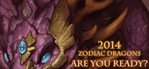 Zodiac Dragons 2014 Calendar Preview by The-SixthLeafClover
