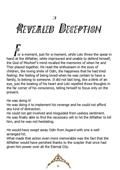 Lost Magic - ch 3 - Revealed Deception by LadyMintLeaf