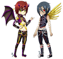 [AUCTION] Winged Males [OPEN] by AdoptErrors