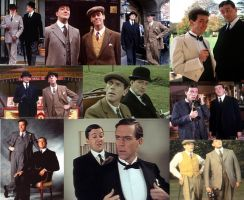 Jeeves and Wooster Wallpaper by crazy241hp