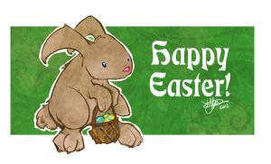 a quick Easter Bunny by thailur