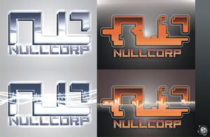 NullCorp logos A by Synthaesthetic