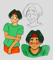 Tracy Sketches by ViridianSoul