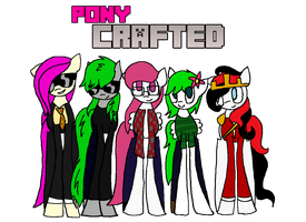 Pony Crafted Frands by AlicornOverlord