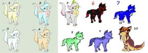 UNSOLD ADOPTS SALE 5-15 POINTS EACH [9/10 OPEN] by PurryProductions-Inc