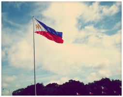 philippine flags by geyl