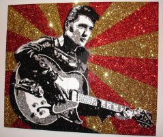 Elvis '68 Comeback GLITTER by The-Glitteress