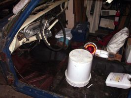 Bucket Seats And Safety Belts by peirrin