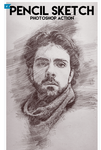 Pencil Sketch Photoshop Action by newdesigns