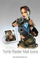 Tomb Raider Mail Icons by andyke