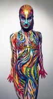 Life performance Body painting by NatashaKudashkina