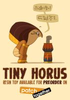Tiny Horus Preorder by shoomlah
