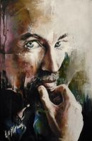 Jackie Earle Haley portrait by sullen-skrewt