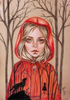 Little Red Riding Hood by BlackFurya