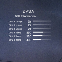 EVGA Precision for Rainmeter by Xilent21