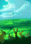 The View from Watership Down by AmandaRaquel