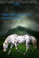 400th day manipulaton AEM by cooperocf