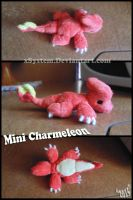 Mini Charmeleon Plush by xBrittneyJane