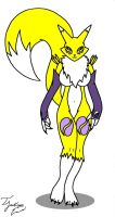 : . Renamon . : by TalbainJackson