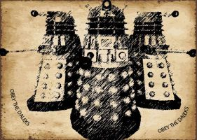 Obey The Daleks! by turian097