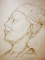 Portrait Study - Woman by Anesthetic-X