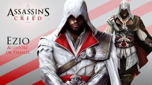 Ezio wallpaper by englishlioness