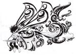 fairy tattoo design 5 by Rawyen