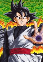 Black Goku - The enemy of the future by Yugoku-chan