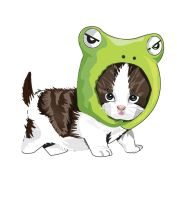 Cat Frog by ChoiceMockery