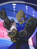 Garrus by Mike-Tr