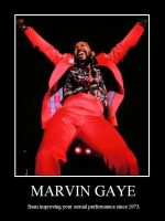 Marvin Gaye demotivational by coona