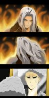 Sephiroth's Bad Hair Day by darthfilart