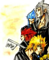 Kingdom Hearts Evil Guys by hazeldarkman