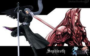 Dissidia Sephiroth Wallpaper by Shadow-Heartless