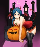 Cecilia Halloween by Metalbolic