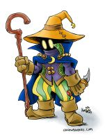 Final Fantasy Black Mage by KneonT
