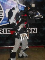 Anime Expo 2013: Lightning Saix by MidnightLiger0