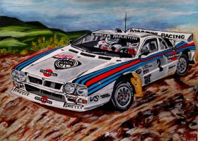 Lancia 037 by JosefVonDoom