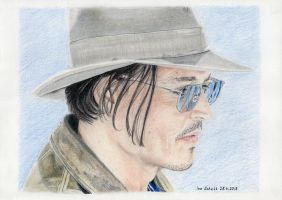 Johnny Depp - Las Vegas 2013 - 2 by shaman-art