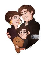 Organa-Solo Family by msciuto