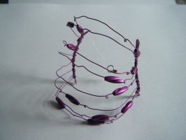 Wire Cuff by letmeusemyname