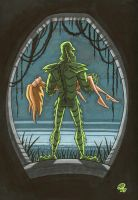 Creature From da Black Lagoon by OtisFrampton