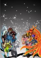 Forever Brought-Colors of Existence by LucyNickBakura