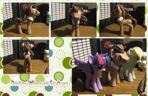 Doctor Whooves Sculture by daregindemone04