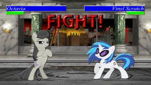 Pony Kombat Tournament Round 1, Battle 3 by Macgrubor