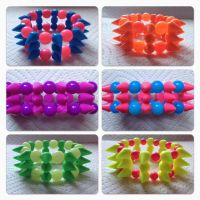 spike bracelets by messypink