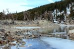 The Lake is Cold by mrthemanphoto