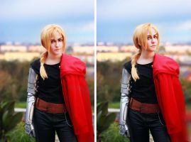 Edward Elric FMA brotherhood 04 by Megane-Saiko