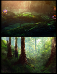 2 quick forests by llRobinll